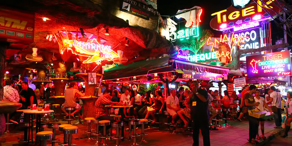 Trendy nightlife in phuket