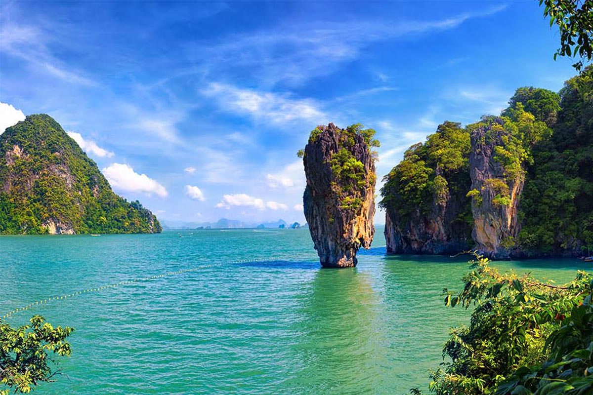 Discover phuket James bond island tour