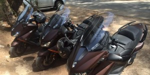 t-max motorbikes for rent